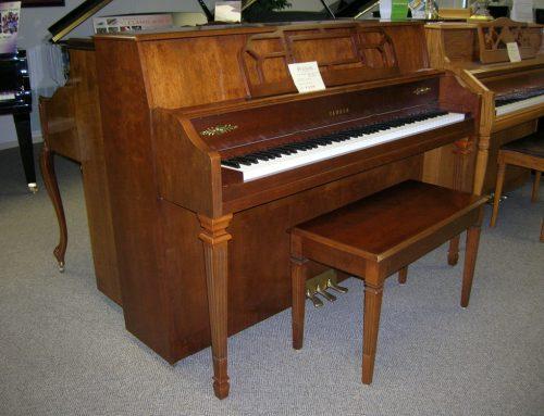 2000 YAMAHA M500H decorator console piano
