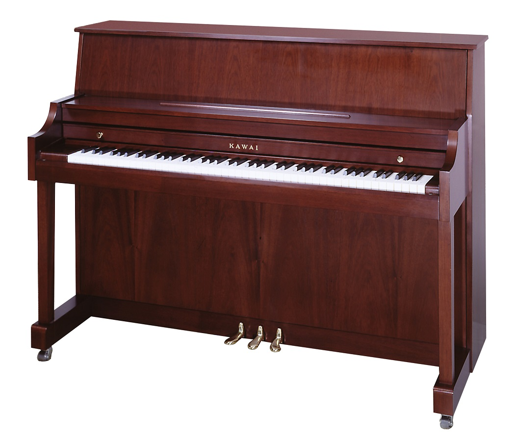 Kawai 44 5 studio piano model 506 all about pianos for Piano upright dimensions