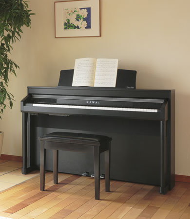 kawai ca 97 digital piano with soundboard speaker system all about pianos. Black Bedroom Furniture Sets. Home Design Ideas