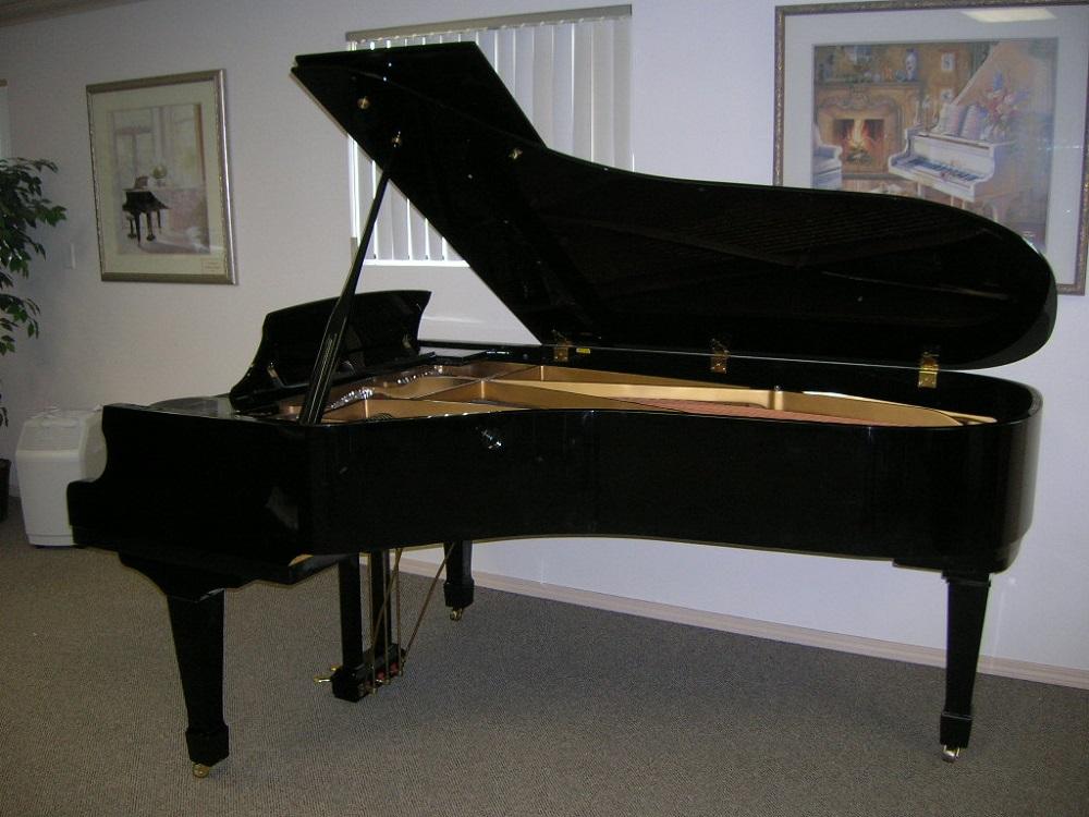 Semi-concert grand piano