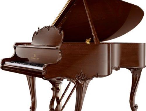 1961 Steinway & Sons 5'7″ Louis XV artcase grand piano