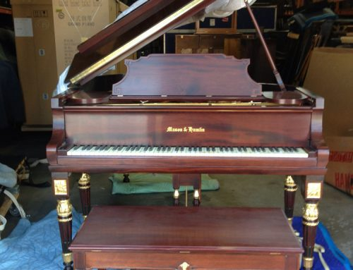 1926 Mason & Hamlin model A artcase grand piano