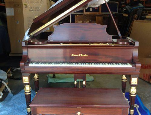 1926 Mason & Hamlin model A artcase grand piano