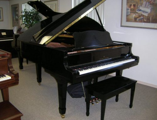 1986 Young Chang 6'1″ grand piano