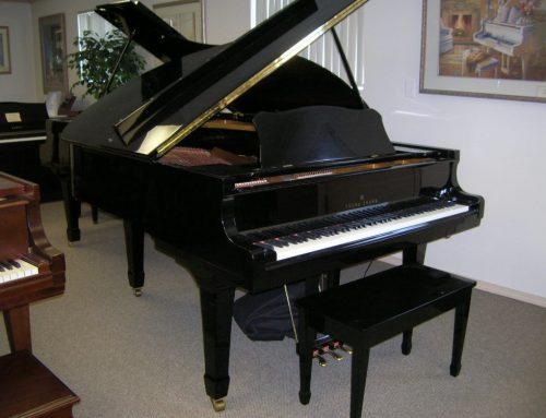 1986 Young Chang 6'1″ grand piano