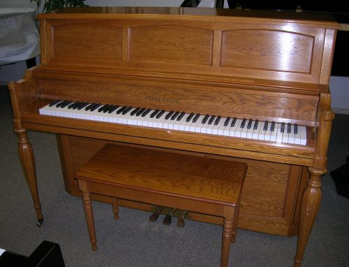 1988 Young Chang 46″ decorator studio piano