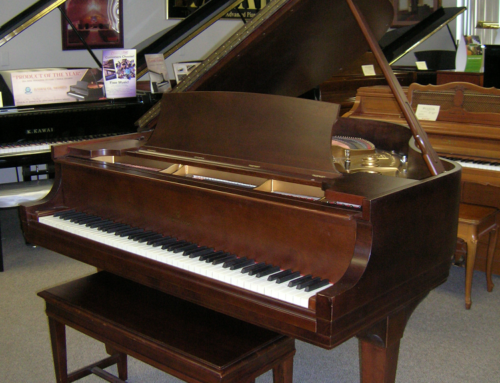 1936 Steinway & Sons model S  5'1″ baby grand