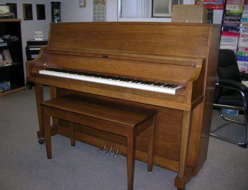 1981 Yamaha model P-202 studio piano