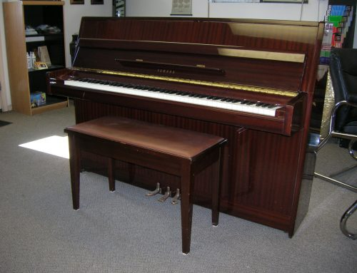 1981 Yamaha model M5J 41″ continental console piano