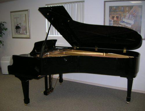 1988 Samick SG-225 7'4″ grand piano