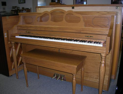 1996 Story & Clark console piano
