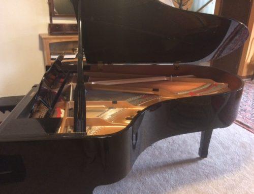 1996 Yamaha C-5 6'7″ grand piano