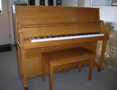 1996 Kawai UST-8 46″ studio piano