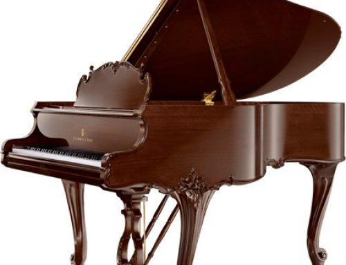 1961 Steinway & Sons 5'7″ Louis XV artcase grand piano