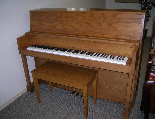 1989 Kawai UST-8 46″ studio piano