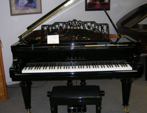 "2003 Vogel (by Schimmel) 177CL 5'10"" grand piano – $13,950"