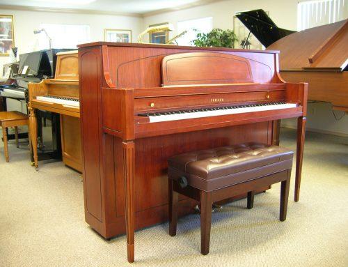 2000 Yamaha 44″ console piano