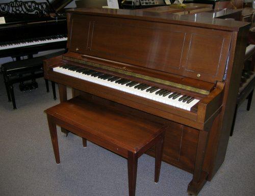 1968 Steinway & Sons 46″ studio piano – $5,495