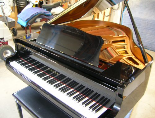 2000 Yamaha GP-1 5'3″ baby grand piano – $4,995