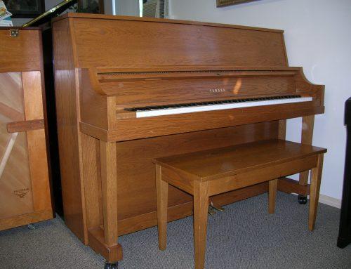 2000 Yamaha 45″ studio piano