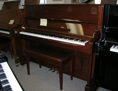 1999 Yamaha model U-1 48″ upright piano – $4,895