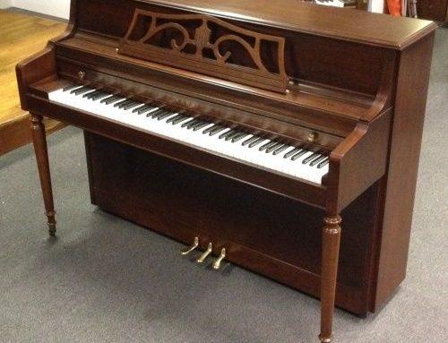 1998 Kawai 503T mahogany console piano  $1,995