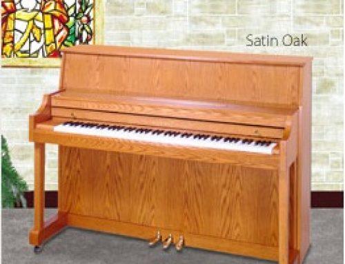 2001 Kawai 506N 44.5″ oak studio piano  $2,595