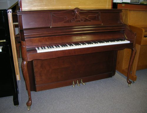 2009 Chas. Walter Queen Anne console,  $7,995