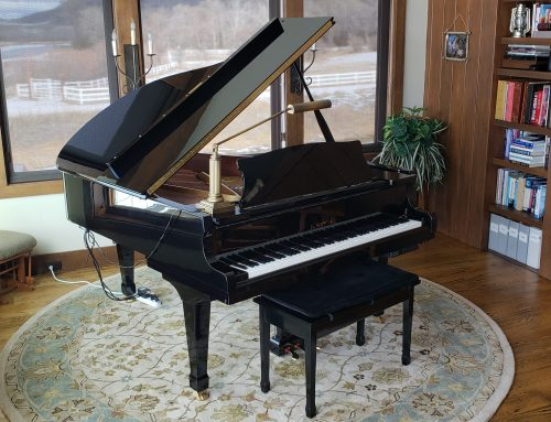 2008 Kawai RX-3 6'1 grand piano with PianoDisc player system