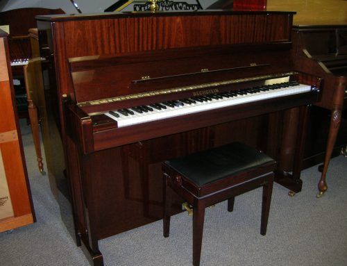 2004 Bechstein model 120 upright piano, $10,450