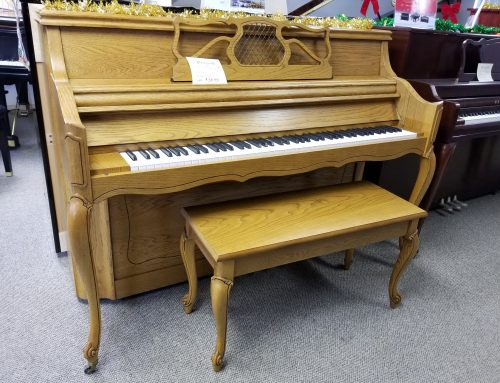 1988 Chas. Walter French Provincial console,  $3,595