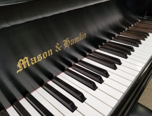 2008 Mason & Hamlin model A 5'8″ grand piano