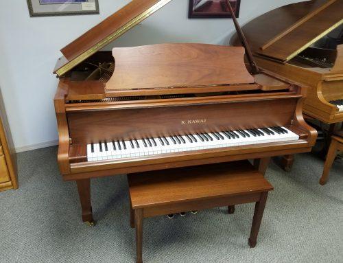 2003 Kawai RX-1 5'5″ walnut baby grand piano – $11,995