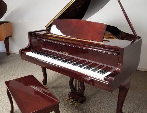 2007 Kawai GM-10K French MHP 5 ft. baby grand piano – $8,295
