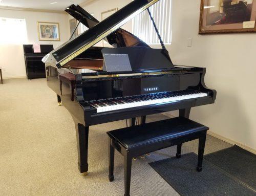 1992 Yamaha G-2 5'8″ grand piano – $9,995