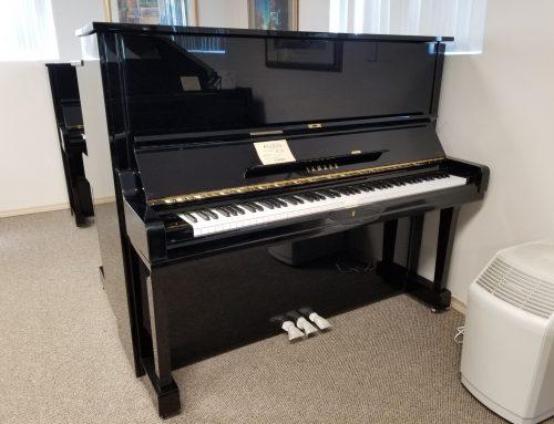 1986 Yamaha U-3A 52″ upright piano – $7995