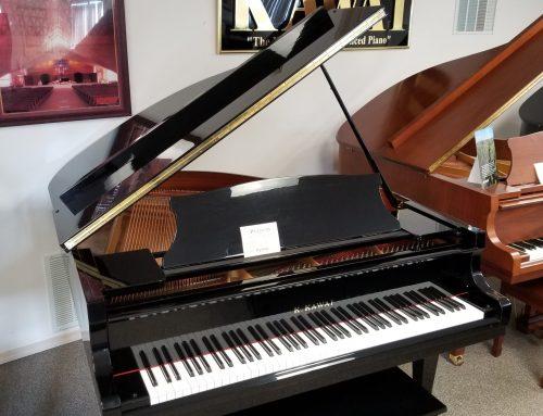 1993 Kawai KG-1A 5'5″ baby grand piano – $8,995